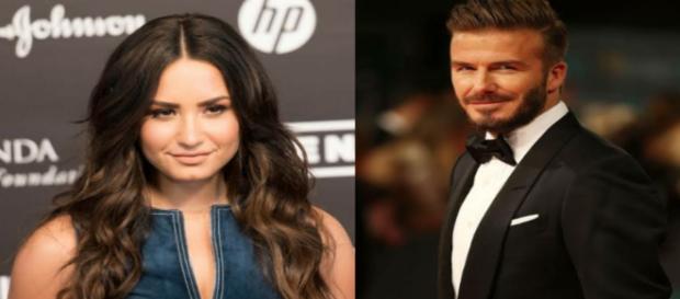 Demi Lovato e David Beckham são alguns dos famosos que confessaram sofrer de transtornos psicológicos. (Reprodução)