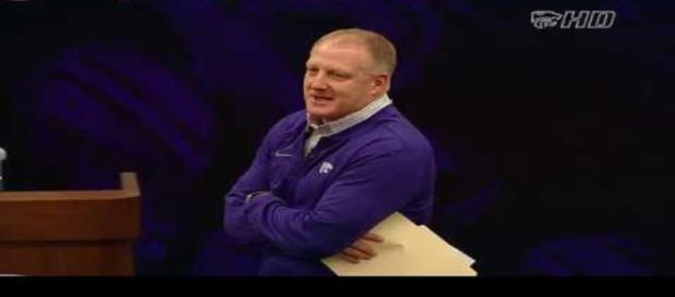 Kansas State football coach. - [K State Sports / YouTube screencap