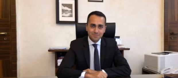 Il Ministro del Lavoro Luigi Di Maio