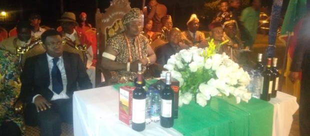Sa majesté Nnamdi Nwosu Mast 1er chef supérieur de la communauté Nigériane au Cameroun © Odile Pahai