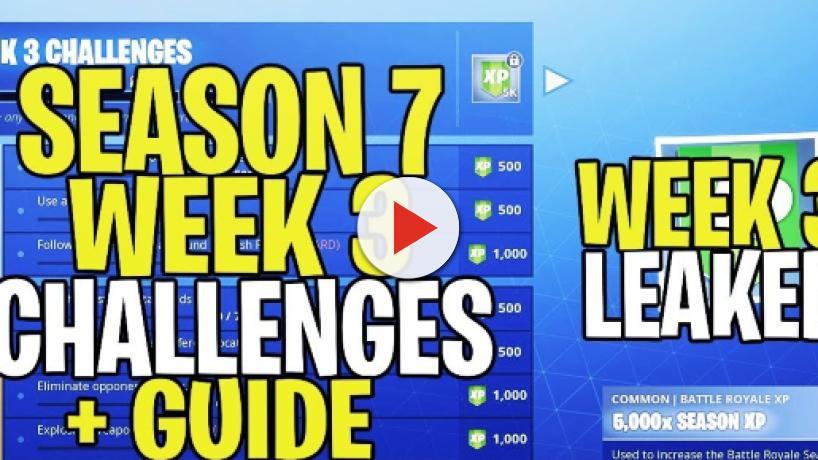 Fortnite: New set of challenges for Season 7 Week 3 leaked