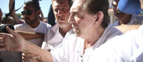 João de Deus se entregou a polícia neste domingo (16) (Marcelo Camargo/Agência Brasil)