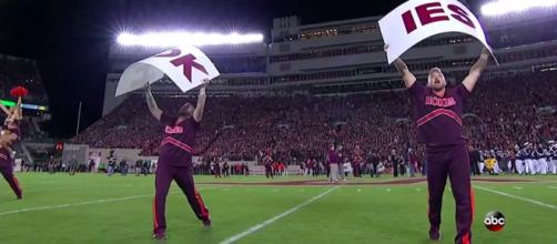 Virginia Tech is looking to improve its football team. - [lbcelo10 / YouTube screencap]