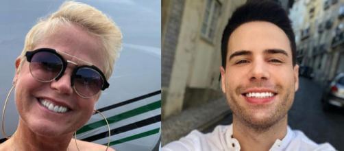 Xuxa e Luiz Bacci (Reprodução Instagram)