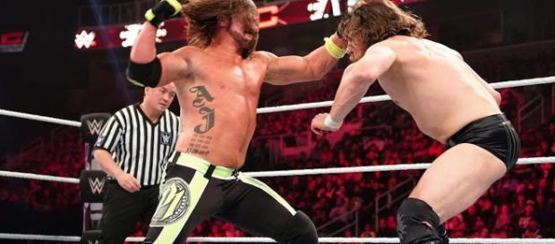AJ Styles battled Daniel Bryan for the WWE Championship at TLC 2018. - [WWE / YouTube screencap]
