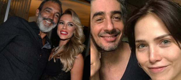 Alguns famosos não ligam para os tabus e resolvem ficar com quem ama. Foto: (Marcos Serra Lima / Ego e Instagram)