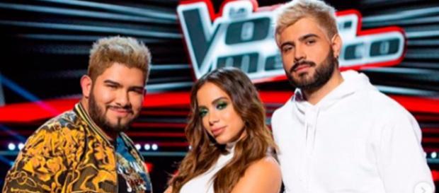 Anitta teve que ouvir crítica de participante do The Voice México (Reprodução/Instagram)