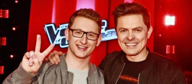 "Samuel Rösch gewinnt ""The Voice of Germany""-Finale mit Coach Michael Patrick Kelly"