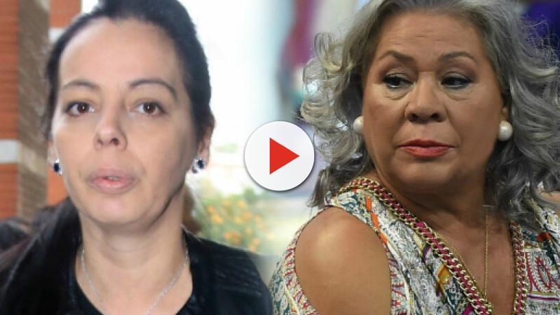 Carmen Gahona expulsa del tanatorio a la amante de Chiquetete