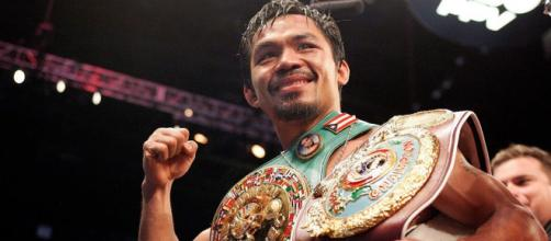 Boxer Manny Pacquiao is among the celebrities born on December 17. [Image via Top Rank Boxing/YouTube screencap]