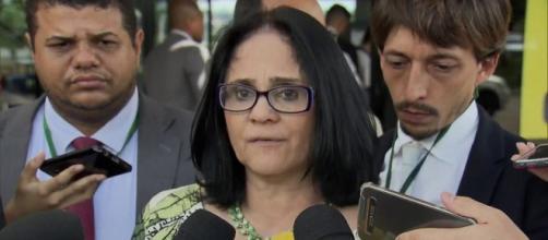 Damares revela que foi estuprada por pastores (Reprodução/TV Globo)