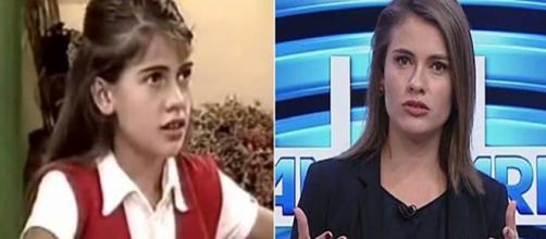 Elisa Veeck hoje é jornalista de uma TV afiliada da Rede Globo (Reprodução: UOL)
