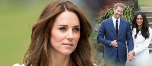 Kate Middleton Meghan White green