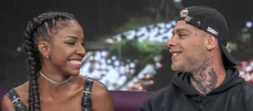 Luane Dias e Leo Stronda (Reprodução RecordTV)