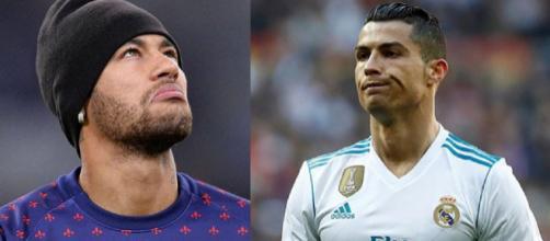 Neymar e Cristiano Ronaldo (Reprodução: Instagram)