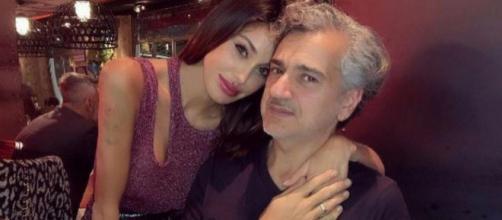 Paura per Belen Rodriguez: papà Gustavo ricoverato in stato di fortissima alterazione