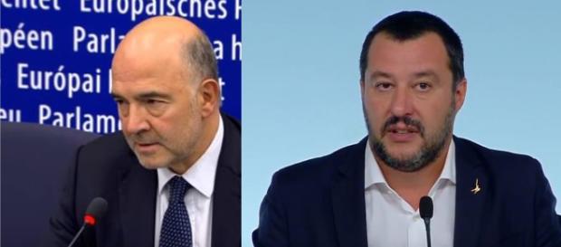 Ancora polemiche tra Moscovici e Salvini