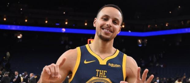 It's not hard to believe Stephen Curry has now scored 15,000 points in his All-Star career. [Image via ESPN/YouTube screencap]