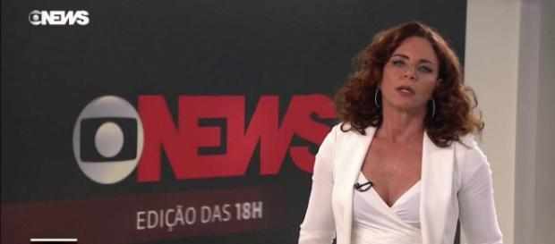 Leilane Neubarth, apresentadora do Globo News. (Reprodução/Globo News)