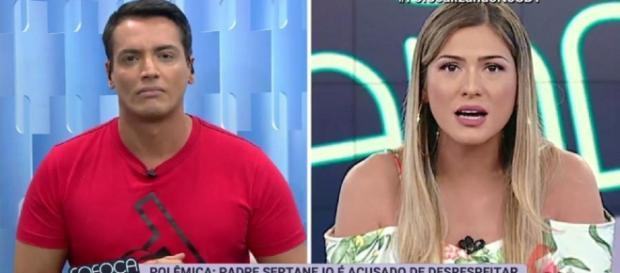Lívia Andrade se defende da acusação de maltratar funcionários do SBT - (Reprodução/SBT)