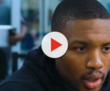Damian Lillard interview. - [Portland Trail Blazers / YouTube screencap]
