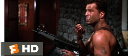 Fandango movie clip of 'Die Hard.' - [Movieclips / YouTube screencap]
