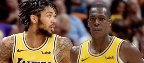 Lakers announce return date for Brandon Ingram and Rajon Rondo [Image by lakersworld16 / Instagram]
