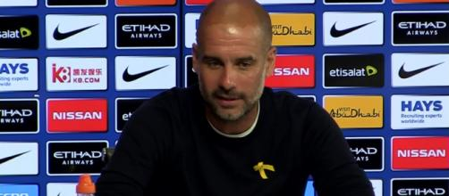 Pep Guardiola (Imagem via Youtube)