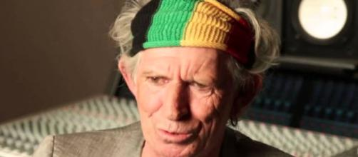 Rocker Keith Richards turned 75 years old on Tuesday (December 18). [USA Today / YouTube screencap]