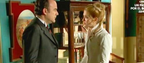 Spoiler Una Vita: il colonnello Valverde proibisce a Simon e Elvira di vedersi