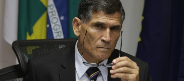 General Santos Cruz é nomeado por Bolsonora para ocupacar a cadeira de Ministro da Secretária do Governo. Foto Fábio R. Pozzebom (AG. BRASIL)
