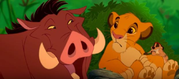 Hakuna Matata, The Lion King 1994. [Image source/dudu YouTube video]