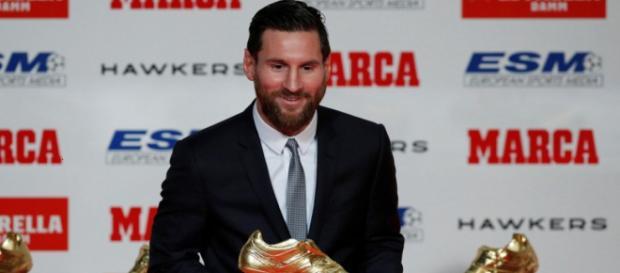 Leo Messi y su quinta Bota de Oro, el más ganador de la historia
