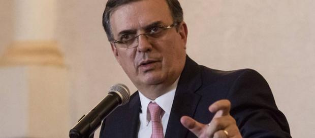 Marcelo Ebrard, Canciller de México.