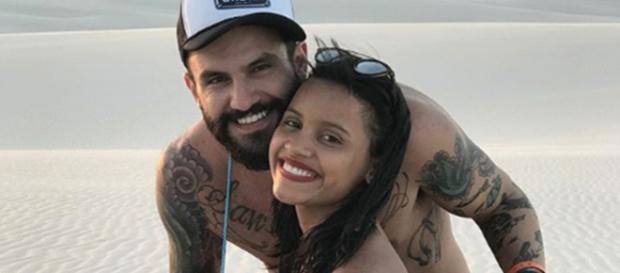 O casal Gleici Damasceno e Wagner Simões se formou na última edição do Big Brother Brasil. (Reprodução / Instagram)