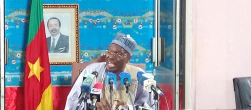 Le ministre de la communication du Cameroun Issa Tchiroma Bakary © Google