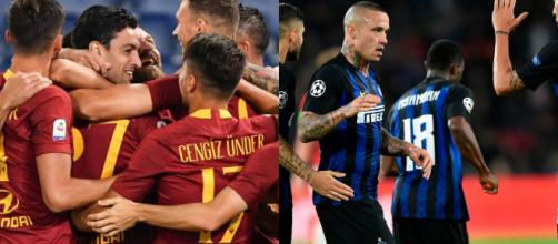 Roma e Inter faccia a faccia ( da TPI )