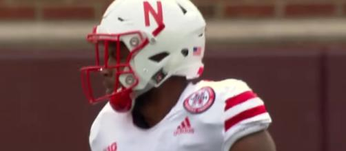 Stanley Morgan Jr. and Nebraska were in a special club for offense this past season. [Image via Big Ten Network/YouTube screencap]