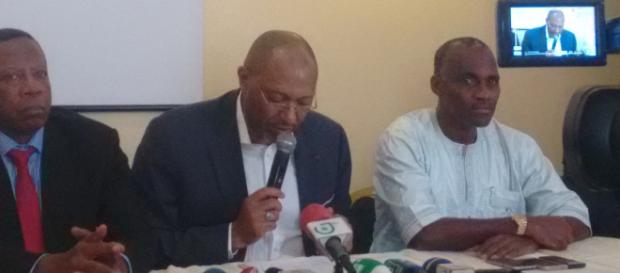 Le candidat Seidou Mbombo Njoya à la présidence de la Fecafoot © Odile Pahai