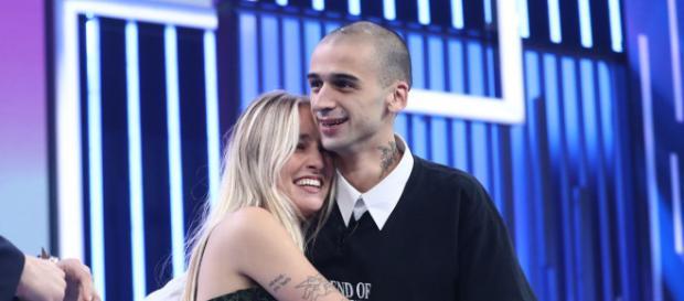 María (OT 2018) con su novio Pablo