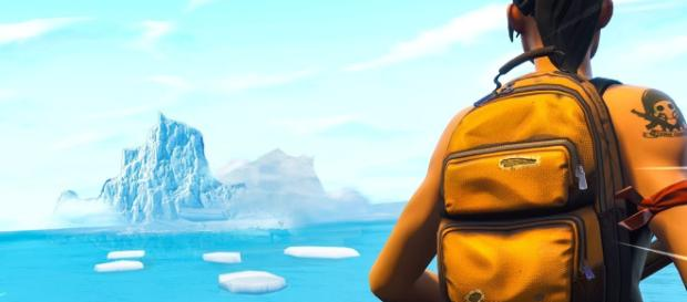 Portals have appeared in Fortnite Battle Royale. [Image Credit: Hollow / YouTube]