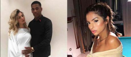 Anthony Martial, accusée d'avoir trompé Mélanie Da Cruz avec une mannequin, alors qu'elle était enceinte de huit mois.