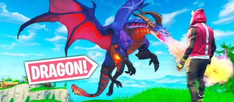 Dragons may come to Fortnite Battle Royale soon. [Image source: Fortnite SparkTV / YouTube]