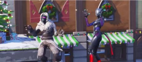 'Fortnite' Season 7's Zenith and Lynx outfits. - [Fortnite / YouTube screencap]