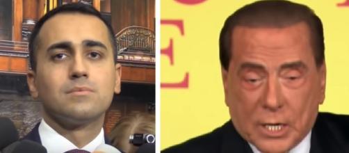 Di Maio e Berlusconi (Ph. Youtube)