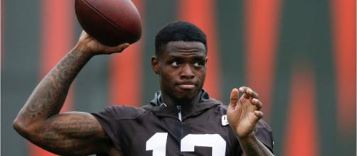 Josh Gordon is leaving the NFL to take care of his mental health. [Image Credit] Wochit News - YouTube
