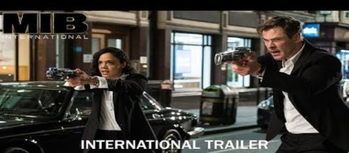 The new Men in Black: International shed light on several things [Image via Sony Pictures Entertainment/YouTube]
