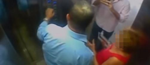 Vídeo com imagens da agressão circulam pelas redes sociais. (Foto: Gazeta Online)
