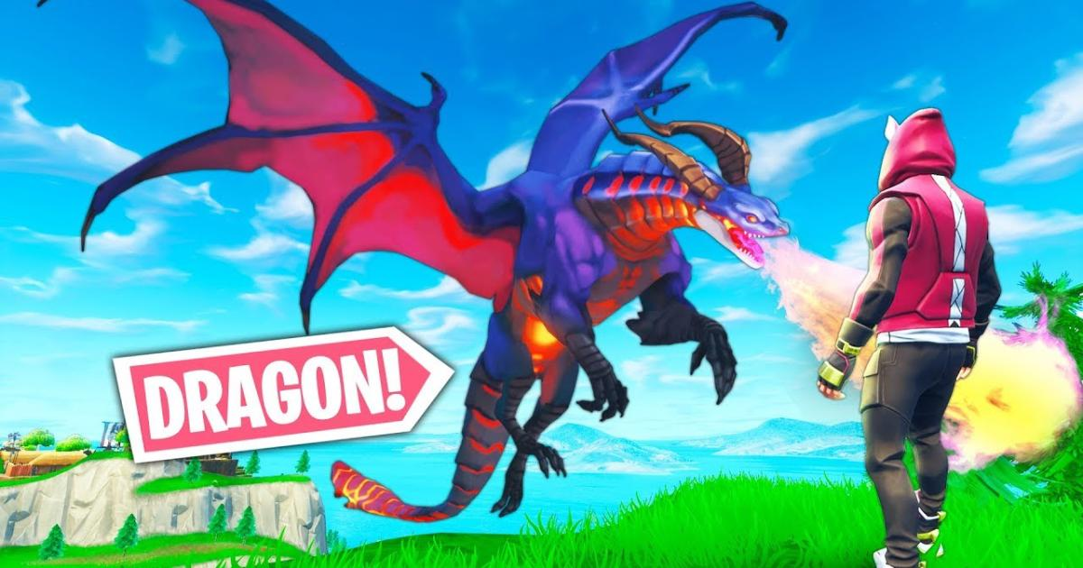 - dragon royale fortnite