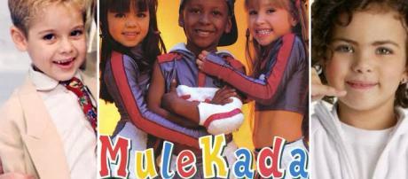Daniboy, Grupo Mulekda e Mini Ana Paula Arósio alcançaram a fama no passado. (Foto Reprodução)
